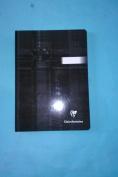 """Exaclair Clairefontaine 9540C Douceur de l'ecriture Velvety White Paper Plain Paper 5 1/2"""" x 8"""" (14.8 x 21 cm) 192 Pages / 96 Sheets Clothbound Black Cover"""