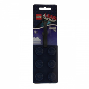 Lego Movie Lego Brick Luggage Tag Dark Blue