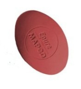 Oval Vinyl Graphite Pencil Eraser. Red. Maped 2 Pack