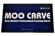 MOO Carve Block 17cm by 28cm by 1.3cm , Stamp Carving and Printmaking