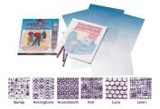 Scratch Art Shade-Tex® Rubbing Plates textile set