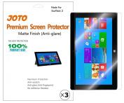 JOTO MS Microsoft Surface 2 Tablet Premium Screen Protector Film Anti Glare, Anti Fingerprint (Matte Finish) with Lifetime Replacement Warranty