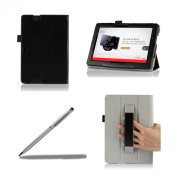 ProCase New Kindle Fire HDX 8.9 Tablet Case with bonus stylus pen - Tri-Fold Leather Stand Cover for Kindle Fire HDX 23cm Tablet (will only fit New Kindle Fire HDX 8.9 2013 released)