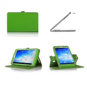 ProCase ASUS MeMO Pad 8 Rotating Stand Case with bonus stylus pen - Folio Cover Case (horizontal and vertical display) for ASUS MeMO Pad 8 Tablet (ME180A, ME180), Built-in Stand