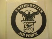 United States Air Force (Black) Embellishment // Petticoat Parlour