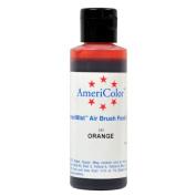Badger Air-Brush Company AC-513 Americolor Amerimist 120ml Edible Airbrush Ready Food Colour, Orange