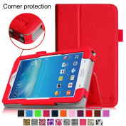 Fintie Samsung Galaxy Tab 3 Lite 7.0 Folio Classic Leather Case Cover for SM-T110 WI-FI and SM-T111 3G
