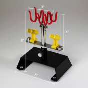 4 Airbrush Holder, TableTop Station Stand Kit