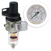 Pro Airbrush Air Compressor Regulator with Water-Trap filter