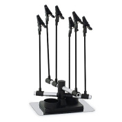 Airbrush Hobby Model Part Holder - Six Alligator Clip Stand