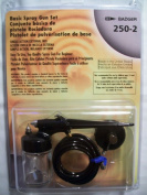 Badger 250-2 Basic Set Single Action External Mix Airbrush Kit