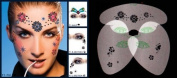Flowers Stencil Airbrush Makeup Face Template