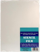 Stencil Film for Airbrush, Paint ~20 Sheets, 8.5x11