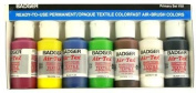 Primary set Air-Tex Fabric 1-o (Red,Yel,Blu,Brn,Grn,Wht,Blk) - T-Shirt Paint