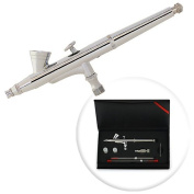 Dual-Action 2cc Gravity-feed Airbrush 3 Tip Set