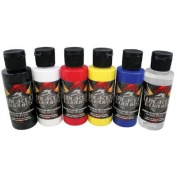 Wicked Colours 60ml Wicked Primary Set Airbrush