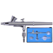 Professional 0.2mm Nozzle Dual Action High-end Gravity Feed Airbrush Design with 2cc Fluid Cup