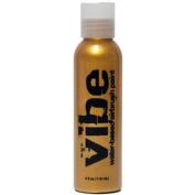 120ml Metallic Gold Vibe Face Paint Water Based Airbrush Makeup