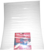 Original Frisket 60cm by 50cm Gloss Medium Tack Masking Film Sheets, 10-Pack