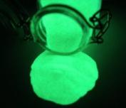 GREEN Glow in the Dark Pigment Powder Watch Lume 10g
