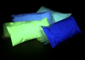 4 Colour Set Glow in the Dark Pigment Powder 10g