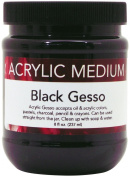 Art Advantage 240ml Acrylic Black Gesso