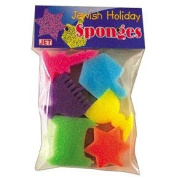 Jewish Holiday Sponge Shapes
