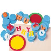 Handy-Hold Alphabet Sponge Painters