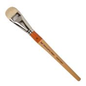 R & F Handmade Paints Encaustic Short Filbert Paintbrush, No.16