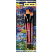 Ebony Splendour Brush Short Handle Wash Set