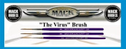 3-MACK The Virus PINSTRIPE/PINSTRIPING/LETTERING BRUSH