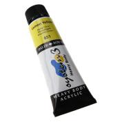 Daler Rowney System 3 Heavy Body 75ml Lemon Yellow