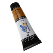 Daler-Rowney System 3 Heavy Body Acrylic 75 ml Tube - Yellow Ochre