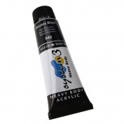 Daler-Rowney System 3 Heavy Body Acrylic 75 ml Tube - Process Black