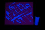 60ml Blue Blacklight Reactive Fluorescent Tempera Paint