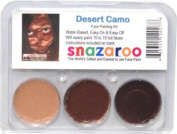 Desert Camo THEME PACK Snazaroo Face Paint Theme Set
