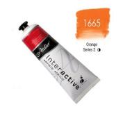 Chroma Atelier Interactive Acrylic - 80 ml Tube - Orange