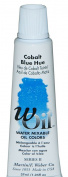wOil 37ml Water Mixable Oil Colour, Cobalt Blue Hue