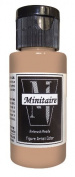 Badger Air-Brush Company, 60ml Bottle Minitaire Airbrush Ready, Water Based Acrylic Paint, Rugged Skin