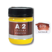 A_2 Student Acrylic 250 ml Jar - Burnt Sienna