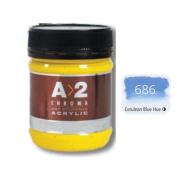 A_2 Student Acrylic 250 ml Jar - Cerulean Blue Hue