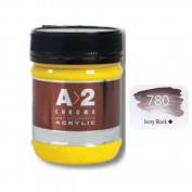 A_2 Student Acrylic 250 ml Jar - Ivory Black