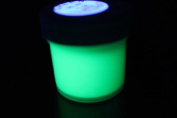GREEN UV Reactive Daytime Invisible Neon Rave Paint 1oz