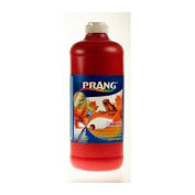 Prang Ready-to-Use Liquid Tempera Paint, 950ml Bottle, Red