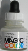 28ml Magic Colour Acrylic Ink - LUNAR WHITE
