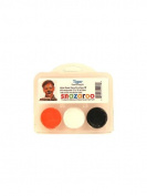 Tiger Theme Face Paint Kit
