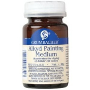 Grumbacher 5802 60ml Alkd Painting Medium for Glazing and Drying Jar