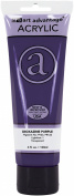 Art Advantage 120ml Tube Acrylic Paint, Dioxazine Purple
