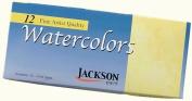 Jackson Watercolours 12 Tubes