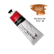 Chroma Atelier Interactive Acrylic - 80 ml Tube - Raw Sienna Dark